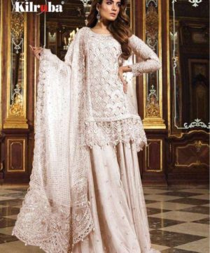 KILRUBA K 12 PAKISTANI GEORGETTE SUITS WHOLESALER3
