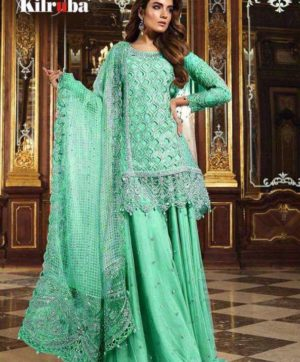 KILRUBA K 12 PAKISTANI GEORGETTE SUITS WHOLESALER