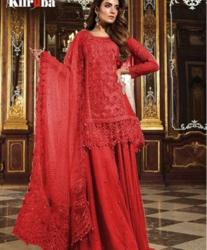 KILRUBA K 12 PAKISTANI GEORGETTE SUITS WHOLESALER7