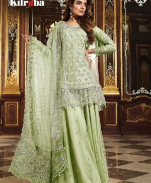 KILRUBA K 12 PAKISTANI GEORGETTE SUITS WHOLESALER9