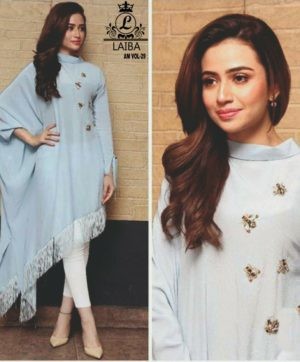 LAIBA AM VOL 29 LUXURY PRET COLLECTION GREY