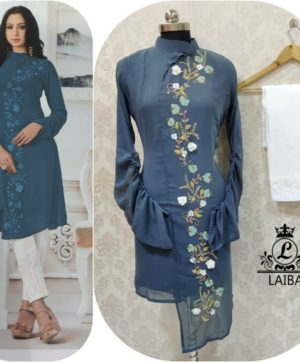 LAIBA AM VOL 28 WHOLESALE LUXURY PRET ASH GREEN