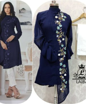 LAIBA AM VOL 28 WHOLESALE LUXURY PRET NAVY BLUE