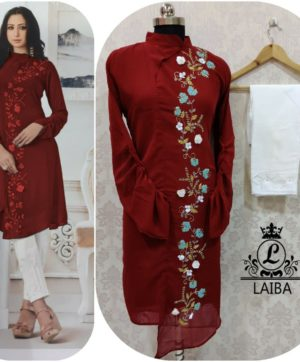 LAIBA AM VOL 28 WHOLESALE LUXURY PRET MARRON