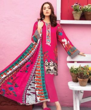 NAFISA COTTON MONSOON VOL 3 3003  KARACHI SUITS