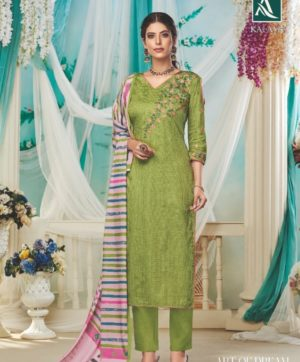 ALOK KALASH S 466-007 COTTON SALWAR KAMEEZ