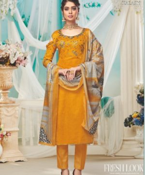 ALOK KALASH S 466-001 COTTON SALWAR KAMEEZ