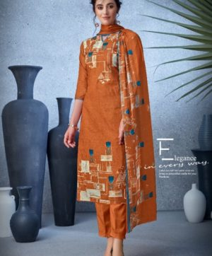 BELLIZA DESIGNER NAZARANA COTTON SUITS 402-001