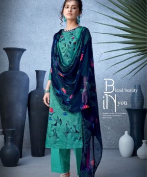 BELLIZA DESIGNER NAZARANA COTTON SUITS 402-002
