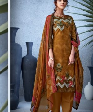 BELLIZA DESIGNER NAZARANA COTTON SUITS 402-005