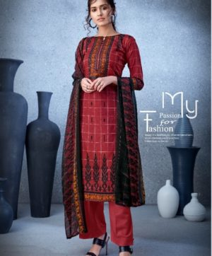 BELLIZA DESIGNER NAZARANA COTTON SUITS 402-003