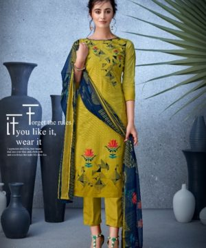 BELLIZA DESIGNER NAZARANA COTTON SUITS 402-007