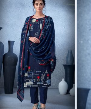 BELLIZA DESIGNER NAZARANA COTTON SUITS 402-006