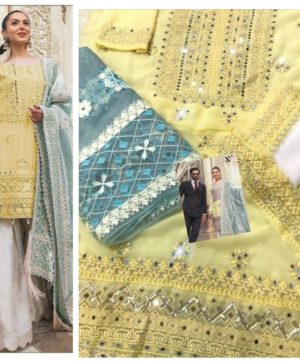 RANGRASIYA WEDDING COLLECTION SALWAR KAMEEZ YELLOW