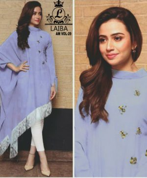 LAIBA AM VOL 29 LUXURY PRET COLLECTION PURPLE