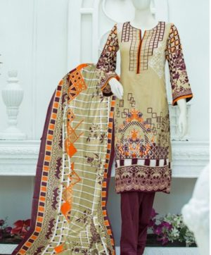 GULL AAHMED LAWN COLLECTION 04 KARACHI SUITS