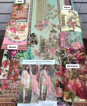 CS LUXURY LAWN C 32 EMBROIDERRIED COLLECTION