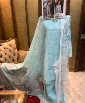 FEPIC ROSEMEEN CHIKANKARI IN SINGLE 46002 DESIGN NO
