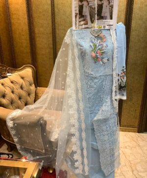 FEPIC ROSEMEEN CHIKANKARI IN SINGLE 46004 DESIGN NO