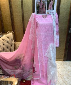 FEPIC ROSEMEEN CHIKANKARI IN SINGLE 46001 DESIGN NO