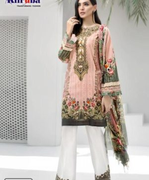KILRUBA IRIS LAWN COLLECTION K 23 PAKISTANI SUITS