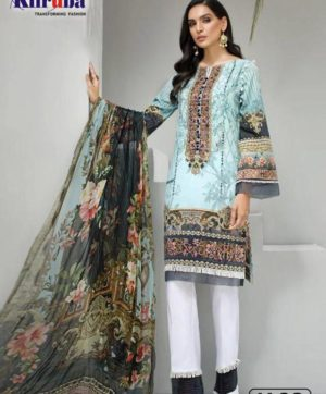 KILRUBA IRIS LAWN COLLECTION K 28 PAKISTANI SUITS