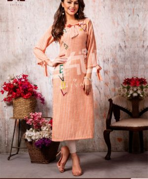 S4U COTTON CANDY VOL 4 CC 401 KURTI WHOLESALER