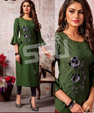 S4U COTTON CANDY VOL 4 CC 408 KURTI WHOLESALER