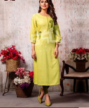 S4U COTTON CANDY VOL 4 CC 409 KURTI WHOLESALER