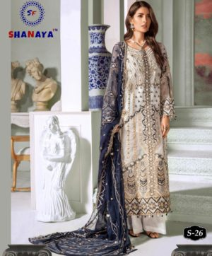 SHANAYA FASHION S 26 PAKISTANI SUITS WHOLESALER