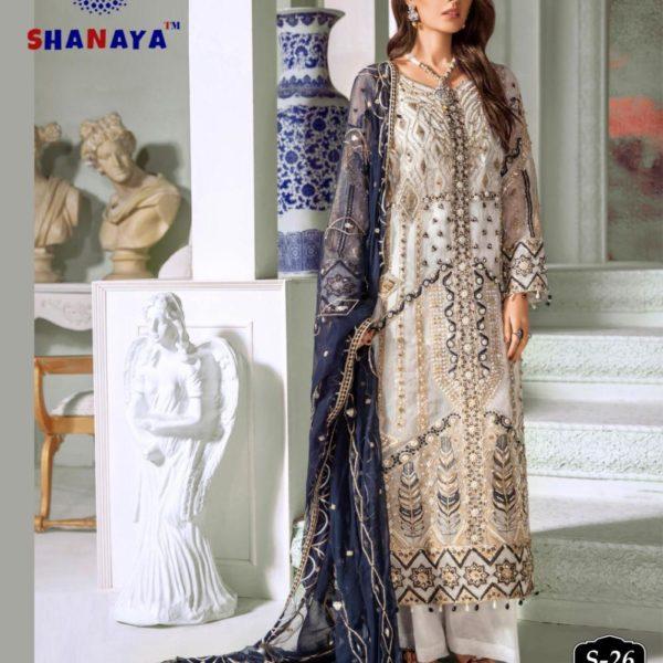 SHANAYA FASHION S 26 PAKISTANI SUITS WHOLESALER