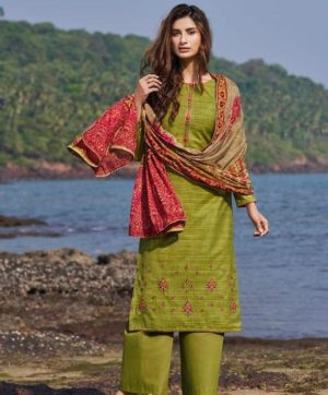 DEEPSY NURAH 64004 COTTON DUPATTA SUITS