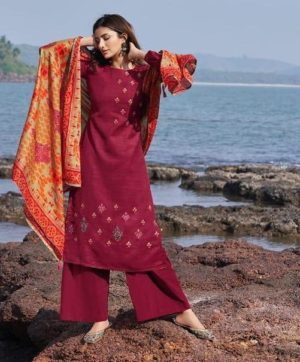 DEEPSY NURAH 64006 COTTON DUPATTA SUITS