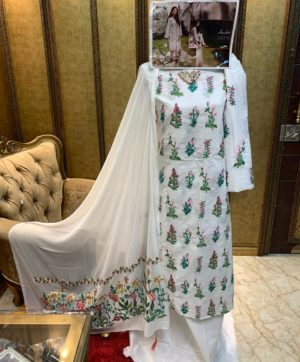 MUSHQ LUXURY LAWN COTTON PAKISTANI SUITS