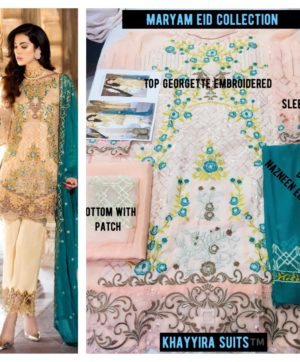 KHAYYIRA MARYAM EID 1012 PAKISTANI SUITS WHOLESALER