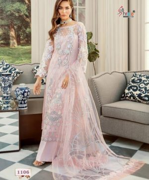 SHREE FABS ROUCHE LUXE 1106 IN SINGLE PIECE