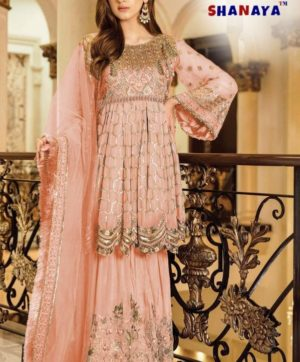 SHANAYA ROSE AFROZEH IN SINGLE DESIGN NO 903-B ONLINE SHOPPING IN INDIA