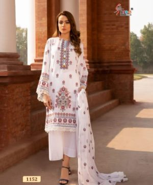 SHREE FABS ALMIRAH VOL 5 SALWAR SUITS 1152