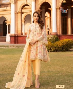 SHREE FABS ALMIRAH VOL 5 SALWAR SUITS 1153