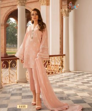 SHREE FABS ALMIRAH VOL 5 SALWAR SUITS 1155