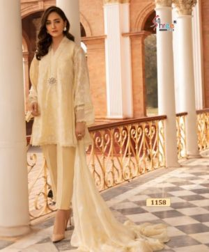 SHREE FABS ALMIRAH VOL 5 SALWAR SUITS 1158