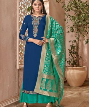 MASKEEN SILK VOL 2 WITH BANARASI DUPATTA 6506
