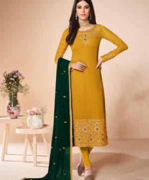 AASHIRWAD CREATION 7055 SALWAR KAMEEZ WHOLESALE