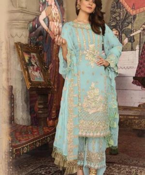 FEEHA WEDDING COLLECTION 7117 A PAKISTANI SUITS