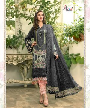 SHREE FABS MARIYA B EID COLLECTION BLACK SUITS