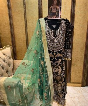 CHARIZMA MARIYAAM VOL 2 10005 BLACK SUIT