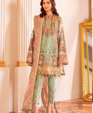 RAMSHA R 167 NET PAKISTANI SUIT WHOLESALER