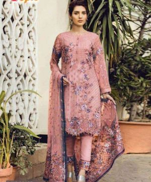 FEPIC 21005 PINK PAKISTANI SUITS WHOLESALER