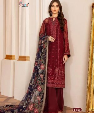 SHREE FABS BAROQUE VOL 2 1141 IN SINGLE PIECE