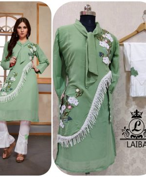 LAIBA AM VOL 32 DESIGNER TUNIC PISTA